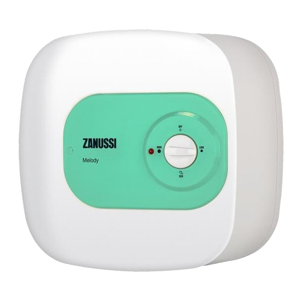 Компактный водонагреватель ZANUSSI ZWH/S 10 Mini O (Green)  ZANUSSI ZWH/S 10 Mini U (Green)  ZANUSSI ZWH/S 15 Mini O (Green)  ZANUSSI ZWH/S 15 Mini U (Green)
